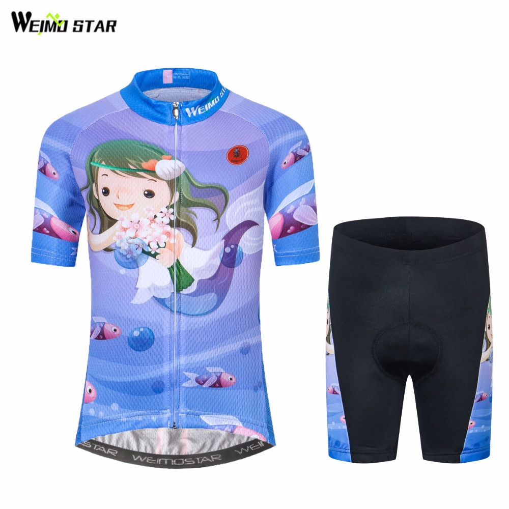 WEIMOSTAR Bike Jersey Bicycle-Clothes Clothing Ropa-Ciclismo Children Mtb Summer Outdoor