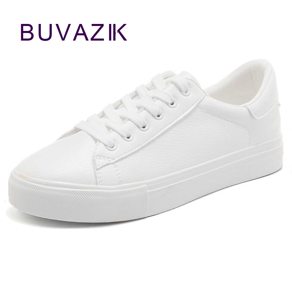 2018 spring new women's shoes white fashion sneakers Zapatillas Deportivas Mujer breathable female footwear цены онлайн