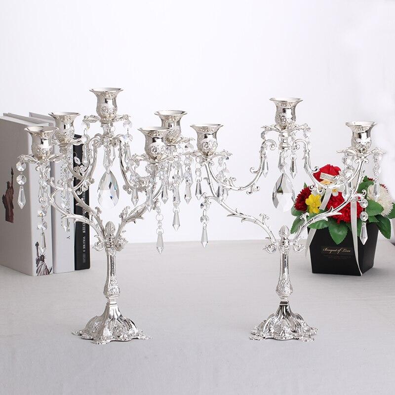 Aliexpress Com Mode Romantische Metall Kerzenleuchter Kerzenhalter
