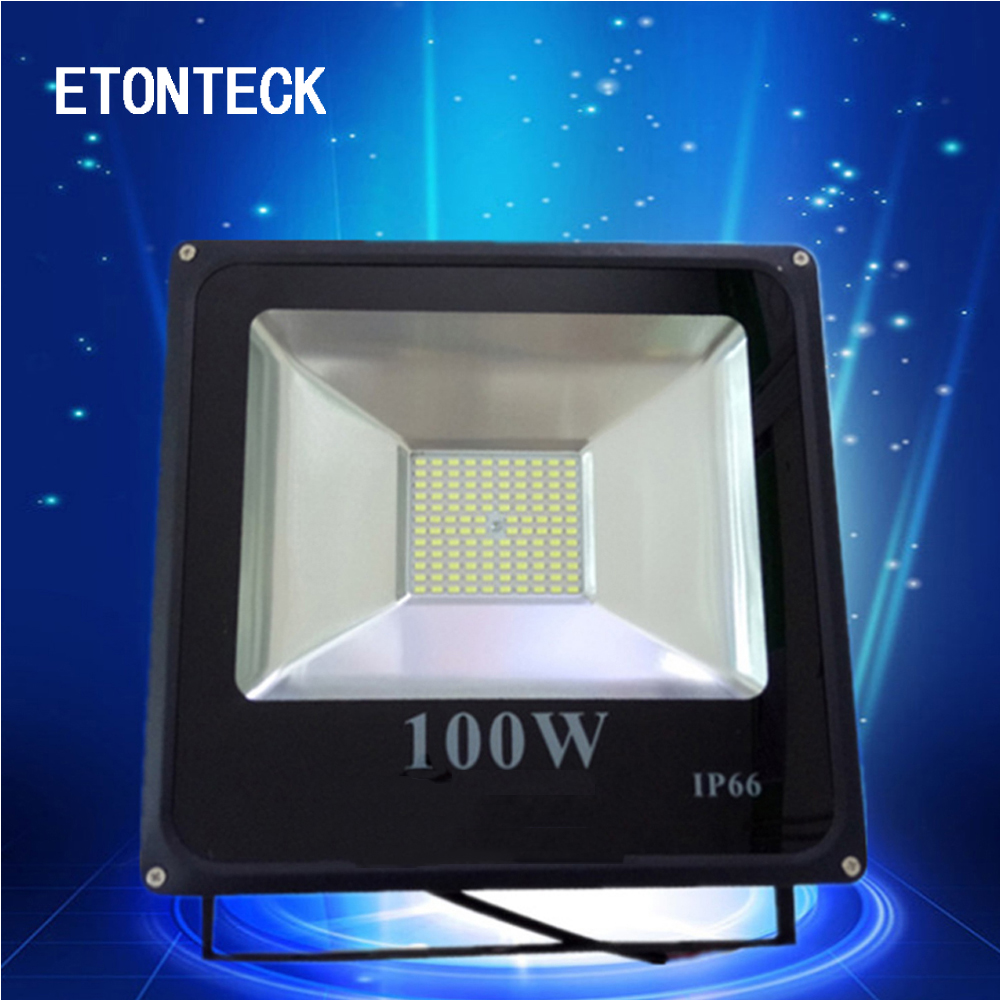 ETONTECK LED Flood Light 30W 50W 100W Floodlight IP66 Waterproof 220V Led Spotlight Garden Street Outdoor Lighting Floodlamp