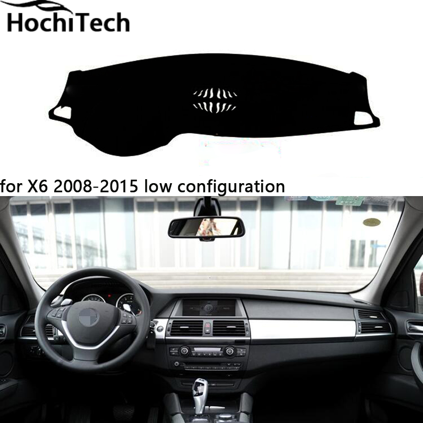 Hight quaity double layer mats for BMW x6 dashboard mat Protective pad Shade Cushion car styling accessories 2008-2016