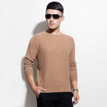 2016 Winter Brand Mew Cashmere Sweaters And Pullovers Long Sleeve O-neck Casual100% Cashmere Sweater For Men Free Shipping CS041