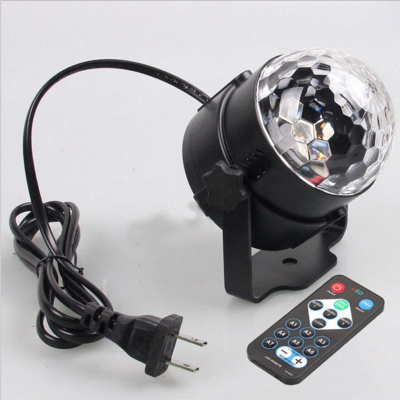 Disco Lights Rotating Ball Lights RGB LED Stage Lights For Disco Party BarChristmas Home KTV Xmas Wedding + Remote Control