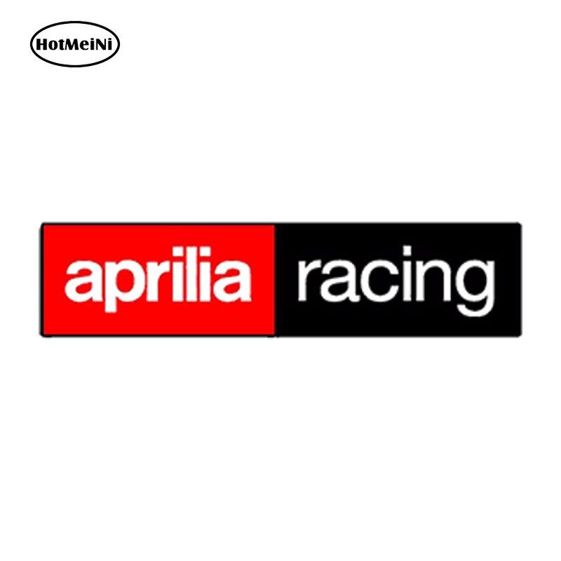 HotMeiNi Водонепроницаемый стайлинга автомобилей виниловые наклейки Aprilia Гонки Авто Moto Gp мотоцикл спортивный автомобиль шлем 3D наклейка 15 см x 3... ...