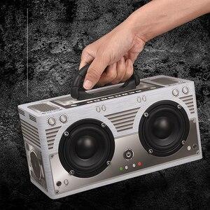 Image 4 - Abuzhen Bluetooth Speaker Portable Speaker Column Soundbar Wireless Speakers Stereo MP3 Music Player AUX TF Subwoofer Phones