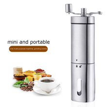 Creative new triangle hand coffee machine stainless steel household grinder