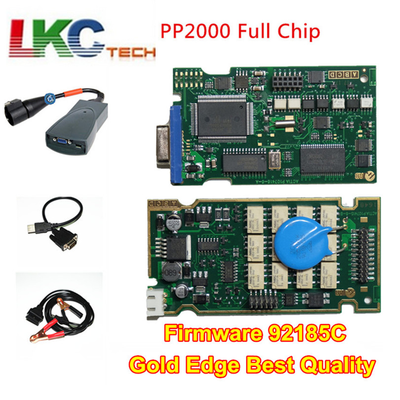 2018 Full Chips Lexia3 PP2000 A Quality PCB Board With Diagbox V7 83 Lexia 3 Firmware