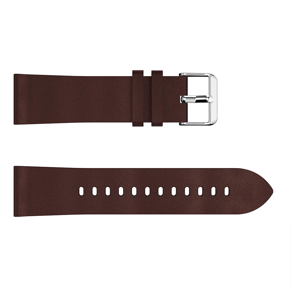 22mm Classic Leather Strap For Samsung Gear S3 frontier Strap For Huawel Watch GT wristband For Samsung Galaxy 46mm Bracelet in Watchbands from Watches