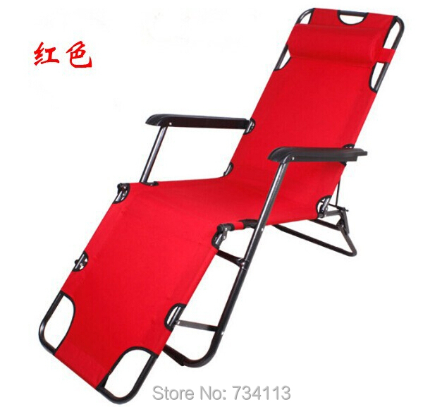 Foldable lounger 178cm deck chair longer leisure folding beach chair stool sling recliner camping lounge chairs bed
