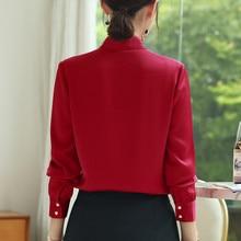 Fashion Women Shirt V Neck long sleeve Office Ladies Plus size