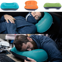 NatureHike Mini Travel Pillow Ultralight Portable Air Inflatable Pillow Outdoor CampingTravel Soft Pillow Free Shipping
