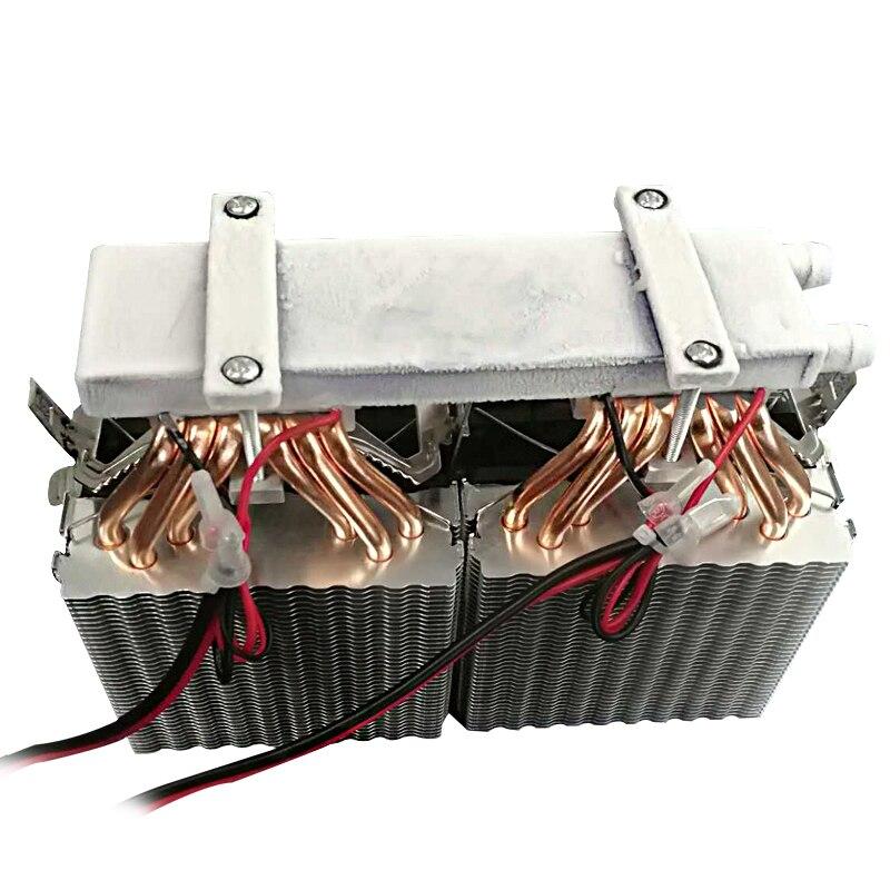 KOOLASON 12 V 30/40L DIY dual-core chip semicondutor refrigeração eletrônica Computador Fresco frio máquina de água Chiller sistema