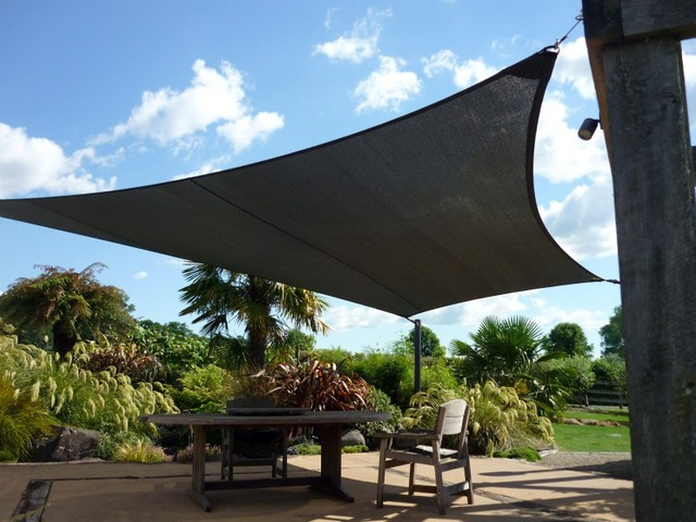 Free Shipping Custom Sun Shade Sail Outdoor UV 340g HDPE Awning 34m Courtyard Pool