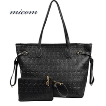 Micom Women Shoulder Bags Printed Skull Handbags Fashion Pu Leather Ladies Large Capacity Tote Bag Female Brand Bolsas Feminina