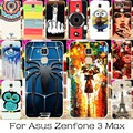 22 de silicona o plástico case cubierta del teléfono móvil para asus zenfone 3 max case zenfone3 max zc520tl 5.2 pulgadas contraportadas de vivienda shell