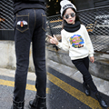 Girl children's wear jeans winter 4 5 6 7 8 9 10 11 12 13 years teenage girls show thin 2016 warm high quality jeans