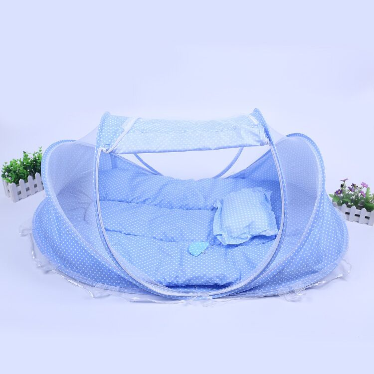 New Spring Winter 0 36 Months Baby Mosquito Tent Baby Bed Portable Foldable Newborn Sleep Bed