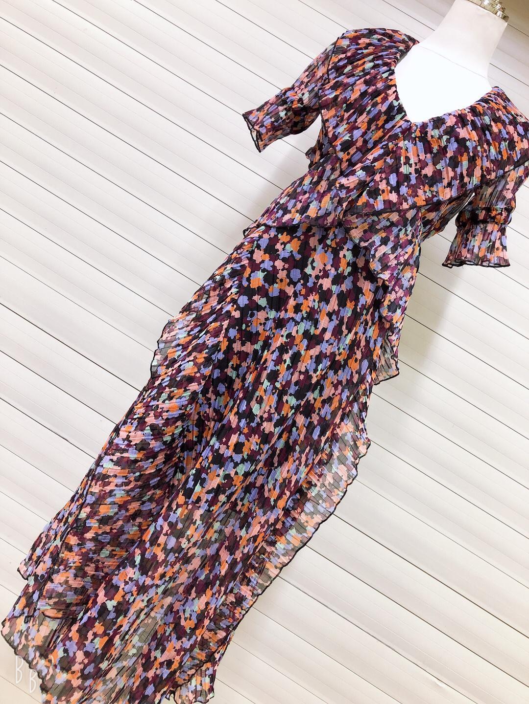 Banulin Runway Designer Summer Beach Dress Women s V neck Backless Ruffles Floral Print Boho Pleated