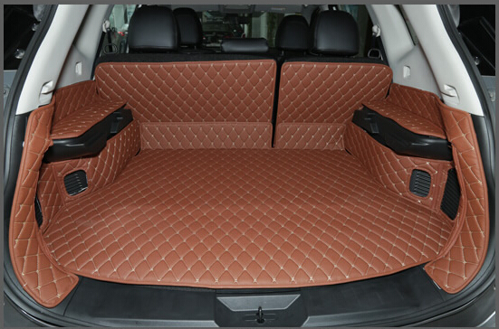 good special trunk mats for nissan x trail 5seats t32. Black Bedroom Furniture Sets. Home Design Ideas