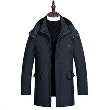 Winter Duck Down Jacket Men 2019 Waterproof Windproof Winter