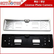 SKYJOYCE CCD HD камера заднего вида Европейский номерной знак кадра камеры свет светодиодный 170 резервная парковка Автомобильная камера заднего вида