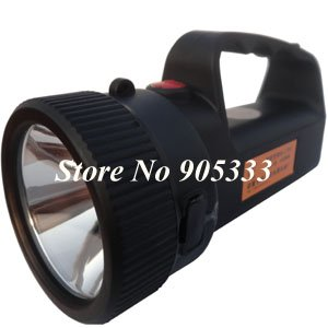Portable Led Spotlight Searchlight Emergency Light Free Shipping