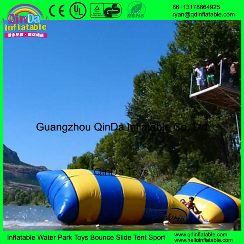 inflatable water jumping catapult blob14