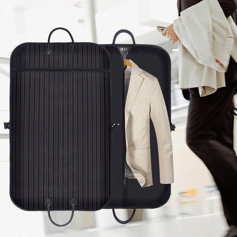 BAKINGCHEF Men's Clothing Dust Covers Travel Business Suit Garment Coat Dustproof Organizer Closet Wardrobe Hanging Bag
