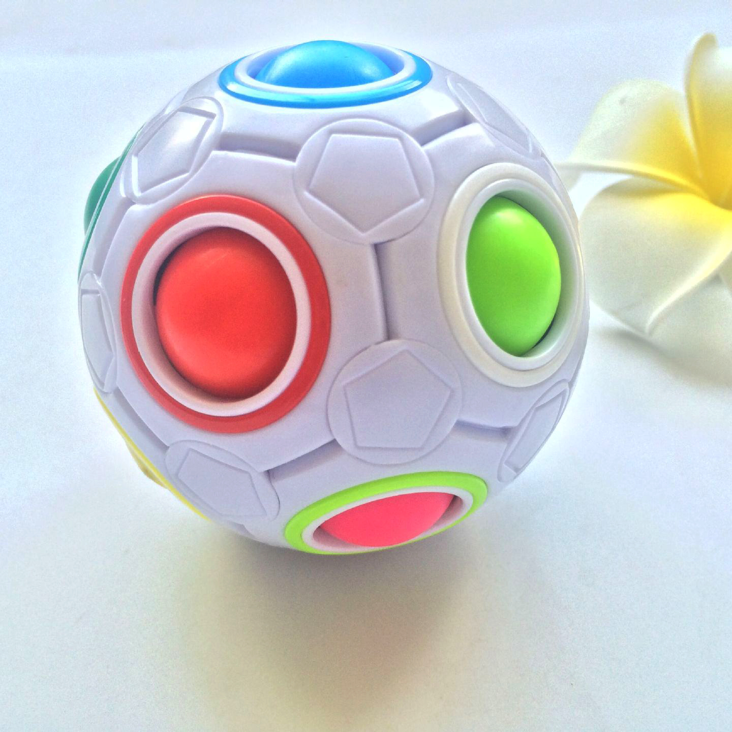 Clearance SaleToys Puzzle Ball-Antistress Montessori Magic-Cube Football Rainbow Children for Reliever