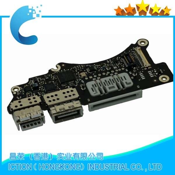 Original A1398 I/O Power Board For Apple Macbook Pro 15 Retina A1398 I/O Power Dock Board USB Audio Port 2012 Year