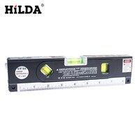 HILDA 4 In 1 Tape Aligner Laser Marking Lines Ruler Tools Laser Levels Blister Laser Levels