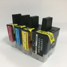 1set Refillable cartridge for Brother LC900 LC950 L47 LC41 LC09 DCP-120C DCP-110C