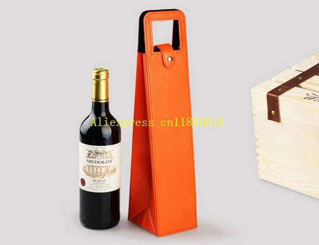 100pcs/lot Fast shipping Wine bags of wine packaging gift boxes ...