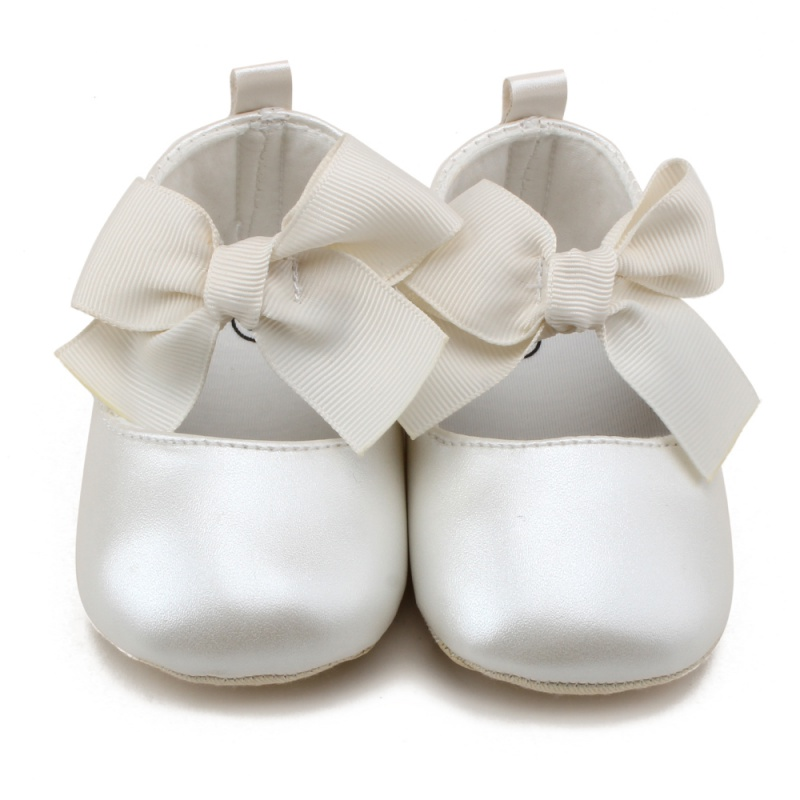2017 New Style Spring Autumn Kids Girls PU Material Toddler Shoes Girl Cute Butterfly-knot Princess Shoes