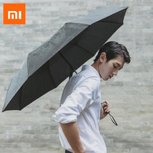 Складной зонт Xiaomi 90Fun, ультралегкий большой зонт от солнца, с защитой от ультрафиолетовых лучей, UPF40 и унисекс, портативный