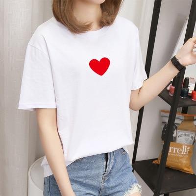 T shirt women Pink Panther printing loose casual harajuku T shirt Short Sleeves tshirt Tops Tee plus size shirt AF55