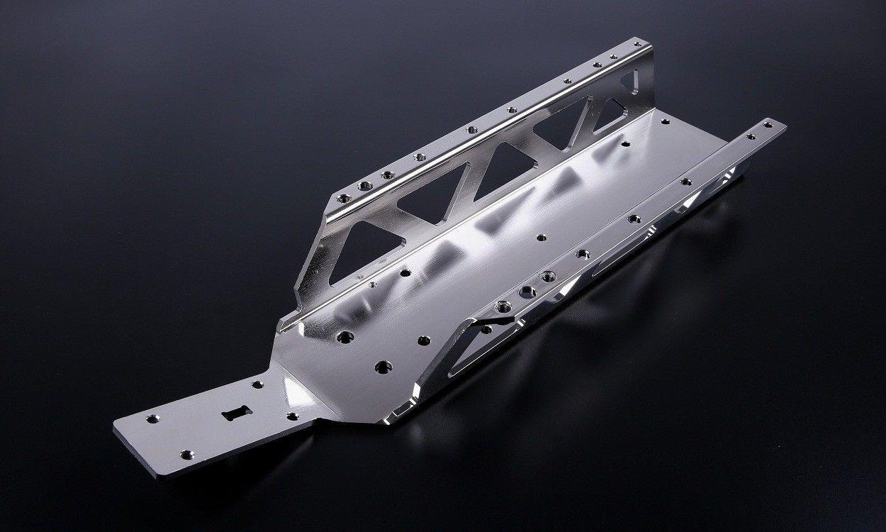 Châssis de châssis principal en métal pour pièces de voiture rc 1/5 hpi rovan km baja 5b ss
