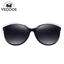 Vegoos Female Oversized Polarized Sunglasses 2017 New PC Frame Material Goggle Professional Anti-UV Protection Eye 9051#