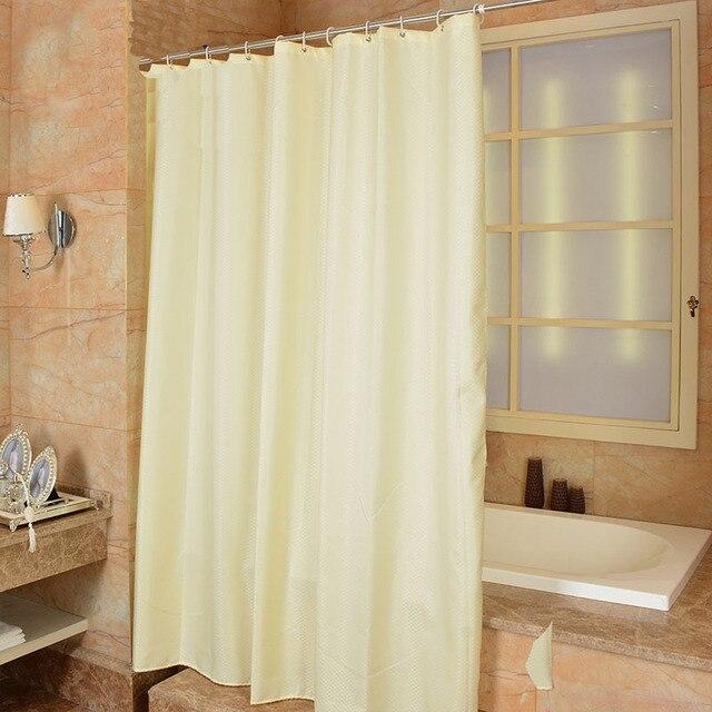 Moderne Stil Polyester Geometrische Gelb Duschvorhang Schimmel ...