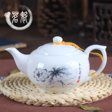 The blue and white porcelain teapot Kung Fu tea kettle large household ceramic pot filter special offer