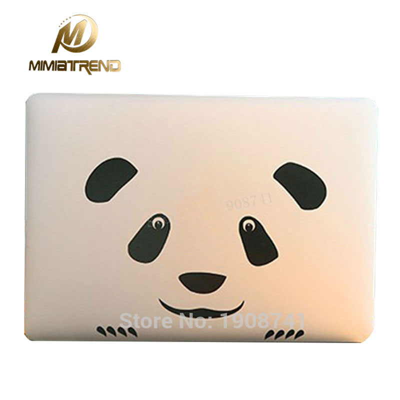 Mimiatrend Panda Laptop Decal Sticker For Apple MacBook Air Pro Retina 11 13 15 Cover Sticker Mac Case Cover Skin Sticker