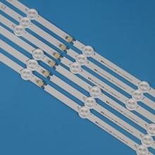 TV LED Backlight Strip For LG 47LA620S 47LA620V 47 inchs Bands Light Bars Lamps Strips Complete Set Replacement