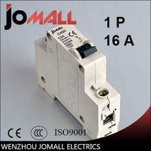цена на C45N 1 pole 16A D type mini circuit breaker mcb Mounting 35mm din rail Breaking Capacity 6KA