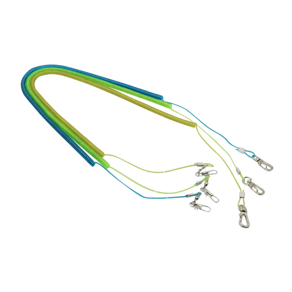 3m/6m/10m Flexible Bird Leash Flying Rope With Ring Parrot Training Harness Steel Wire Inside Bird Outdoor Products