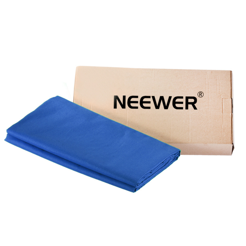 Neewer 3x6M/10x20ft Photo Studio 100% Pure Muslin Collapsible Backdrop Background BLUE for Photography/Video/Televison цены