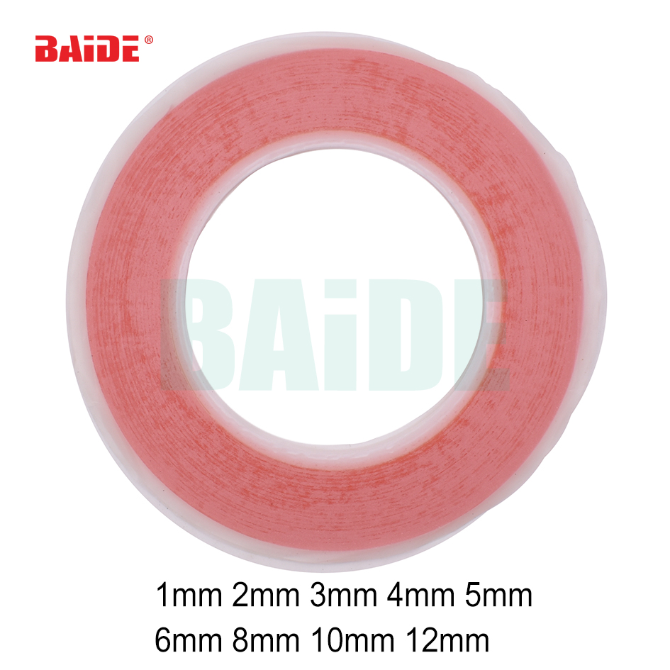 6mm-12mm * 25m Double Sided Acrylic Foam Adhesive Tape Choose Wide Free Shipping for Electronic Products 50pcs/lot