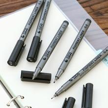 6 pcs Lot Pigment liner sketch pen Cartoon Multi needle Drawing pens Manga font b Anime