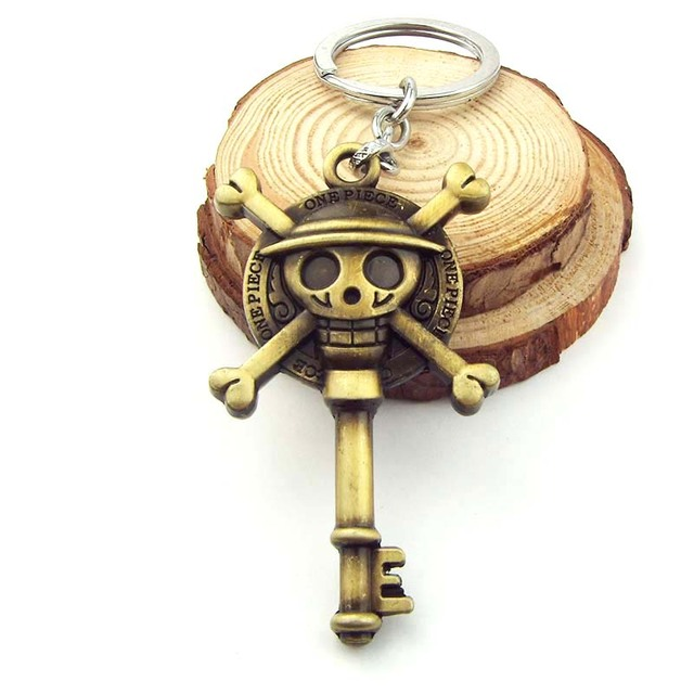 ONE PIECE Hat Skull Keychain