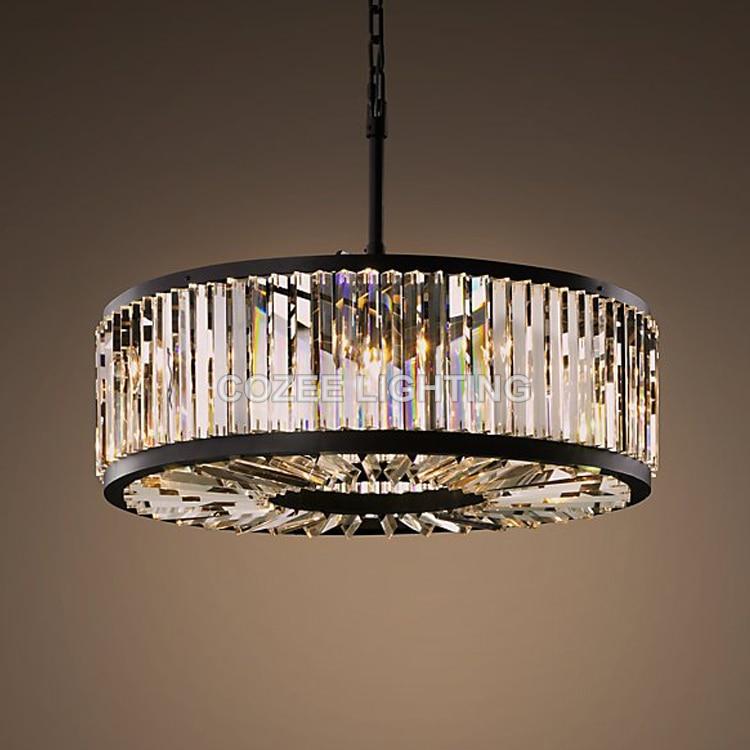 vintage chandeliers led lighting modern crystal prism chandelier light lustres de cristal for. Black Bedroom Furniture Sets. Home Design Ideas
