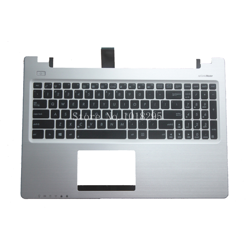 English Keyboard for ASUS K56 K56C K56CA K56CM US laptop keyboad Palmrest Cover